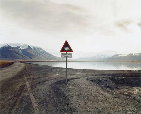 arctic waters: Arctic island of SvalbardSpitzbergen