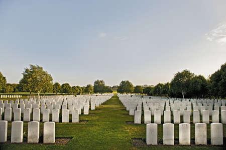 headstones: White headstones in graveyard LANG_EVOIMAGES