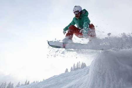 Snowboarder,Fellhorn,Germany LANG_EVOIMAGES
