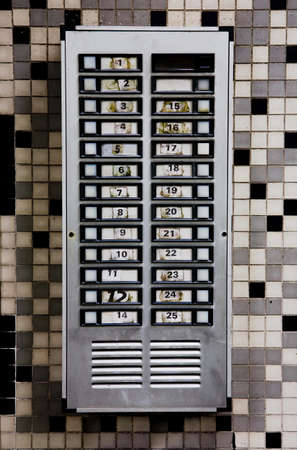 numeric: Communal doorbells