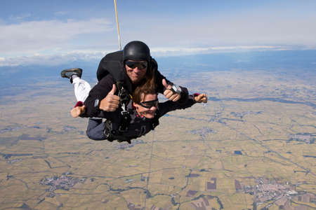 Tandem skydive over Casale,Italy