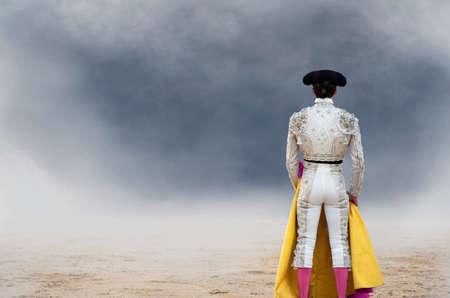 las ventas: Bullfighter,rear view,Las Ventas bullring,Madrid LANG_EVOIMAGES