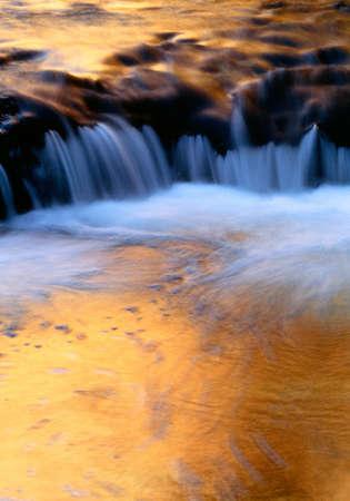 Reflections on small Escalante River,Utah,USA