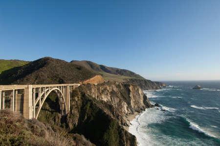 Bixby Bridge on Highway 1,Big Sur,California,USA