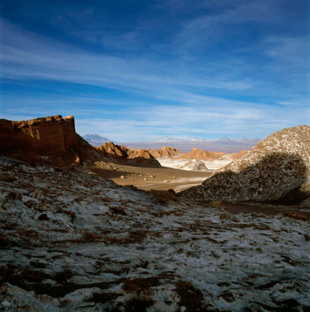 Mountains In The Atacama Desert,Valle De La Luna,San Pedro,Chile