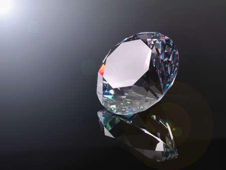 Diamond,close up