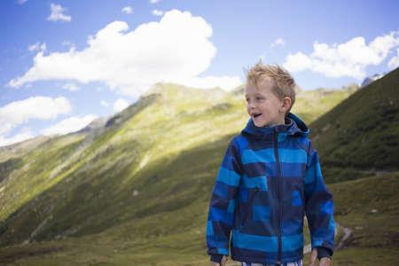 living idyll: Portrait of boy,Tyrol,Austria