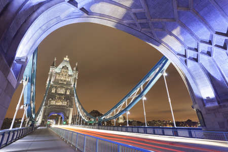 Tower Bridge at night,London,United Kingdom
