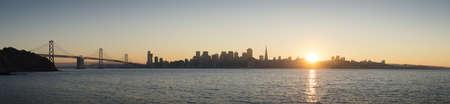 negative area: Panoramic view of Golden Gate bridge, San Francisco, California, USA LANG_EVOIMAGES
