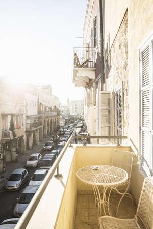 shutter: Balcony in Jaffa, Old town, Tel Aviv, Israel