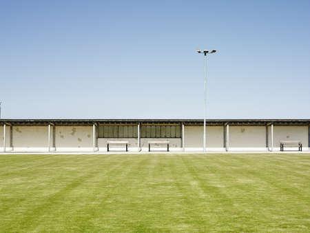 Sports field, Prestatyn, Wales
