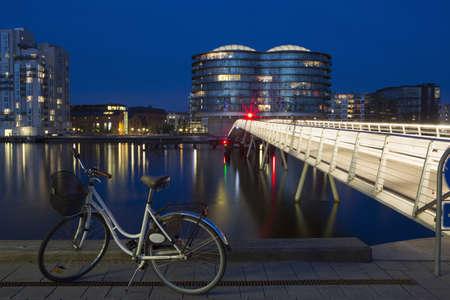 Frente al atardecer, Copenhague, Dinamarca