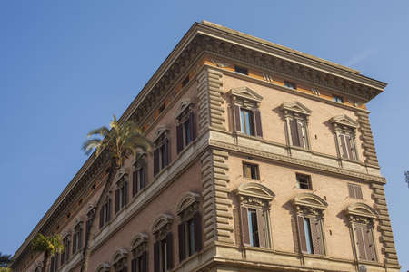 Renaissance architecture, Rome, Italy LANG_EVOIMAGES