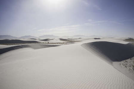 impressed: Rolling sand dunes, White sands, New Mexico,  USA LANG_EVOIMAGES
