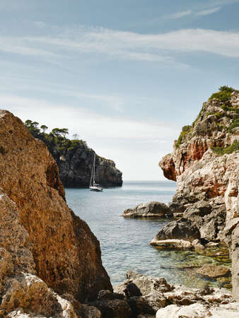 getting out: Deia, Mallorca, Spain