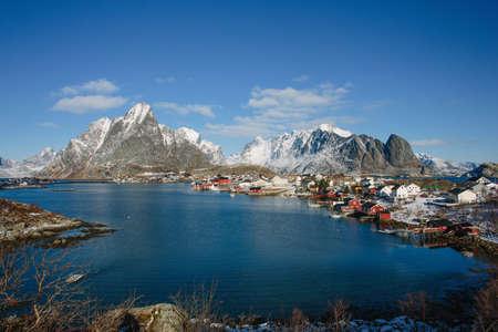 Cod fishing village, Lofoten, Norway LANG_EVOIMAGES