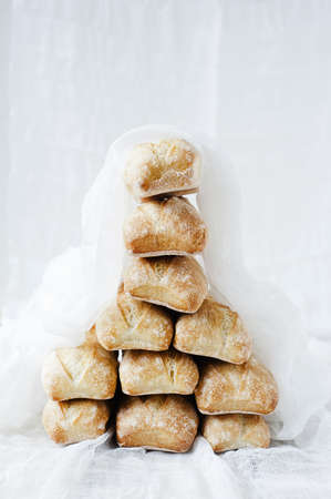 Tower of bread