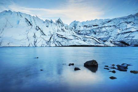 Matanuska Glacier, Palmer, Alaska, USA