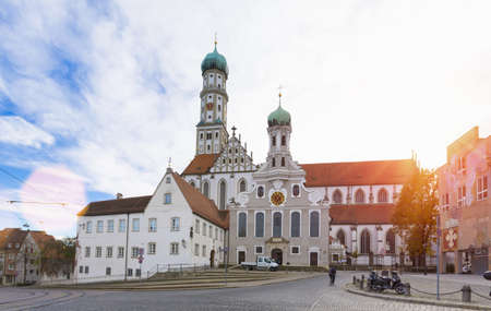 Monastery St Ulrich and Afra, Augsburg, Bavaria, Germany