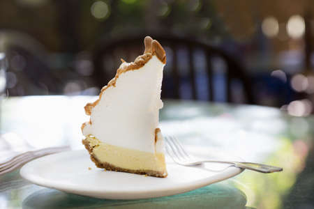 Key Lime Pie, traditional dessert from Florida Keys, USA