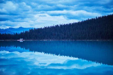 reflective: Lake Louise, Alberta, Canada