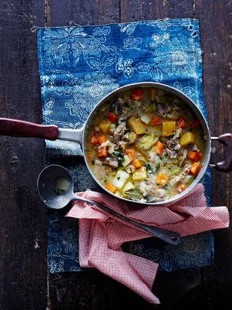 detoxing: Kjotsupa, Icelandic lamb soup