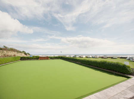 Bowling green, Stonehaven, Scotland