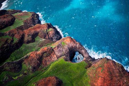 adventuring: Na Pali coast, North Shore, Kauai, Hawaii