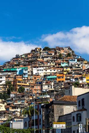 housing lot: View of Morro do Vidigal, Rio de Janeiro, Brazil LANG_EVOIMAGES