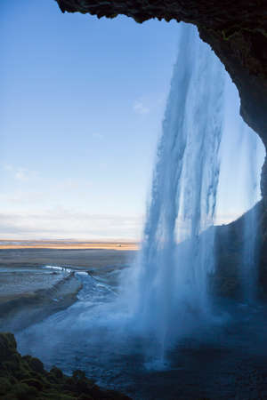 astonishing: Seljalandsfoss waterfall, South West Iceland