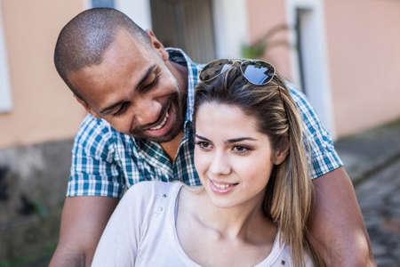 brazilian ethnicity: Portrait of couple
