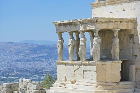 Porch of the Caryatids,Acropolis,Athens,Greece,Europe