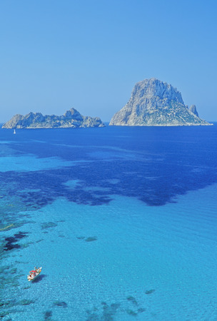 vedra: The rocky islet of Es Vedra,Formentera,Balearic Islands,Spain LANG_EVOIMAGES