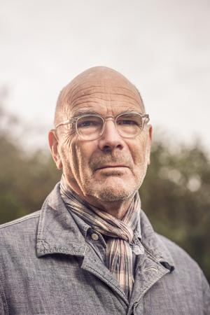 65 69 years: Portrait of senior man