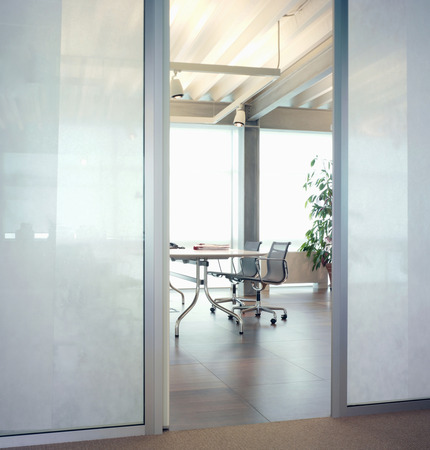 screen partition: Modern office interior