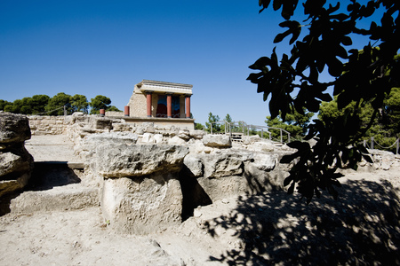 histories: historic cretan temple