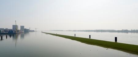 River Waal, Gorinchem, South Holland, Netherlands LANG_EVOIMAGES