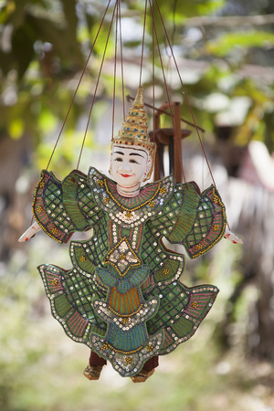 Traditional hanging puppet, Siem Reap, Cambodia