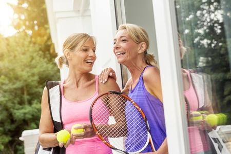 Mature women at play