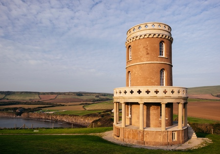 Clavell Tower at Kimmeridge bay, Dorset, UK