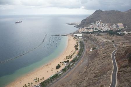 Las Teresitas beach, Santa Cruz de Tenerife, Canary Islands, Spain LANG_EVOIMAGES