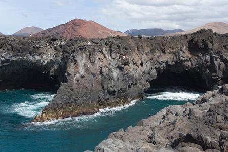 Los Hervideros, Lanzarote, Canary Islands, Tenerife, Spain LANG_EVOIMAGES
