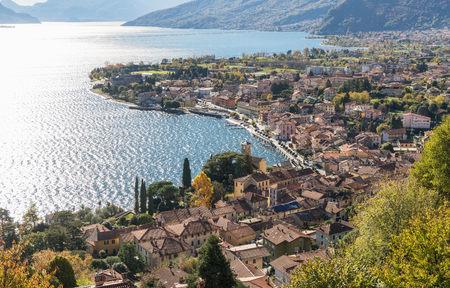 Village of Gravedona on Lake Como, Lombardia, Italy