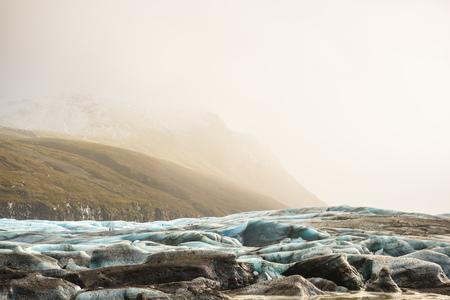 Svinafellsjokull glacier,Iceland LANG_EVOIMAGES