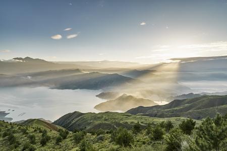 Lijiaxia Reservoir,Jainca,Huangnan,Qinghai Province,China