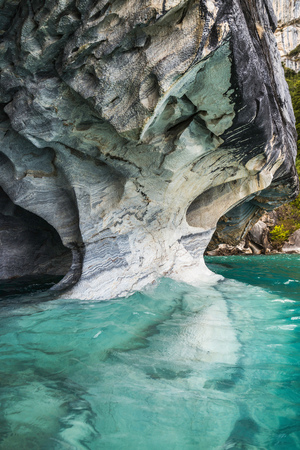 Marble caves, Puerto Tranquilo, Aysen Region, Chile, South America