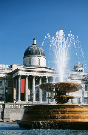 Fontanna na Trafalgar Square