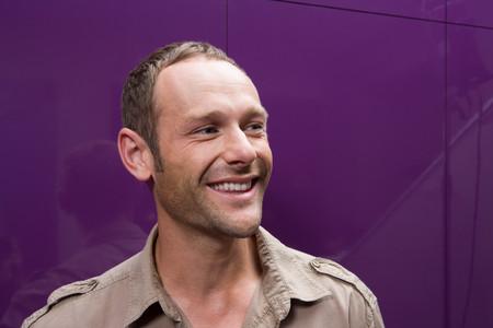 Głowa I Ramiona Uśmiechniętego Człowieka LANG_EVOIMAGES