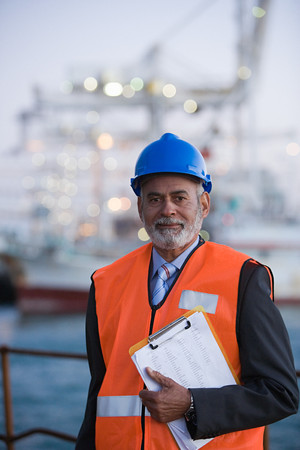 one mature man only: Engineer At Harbour
