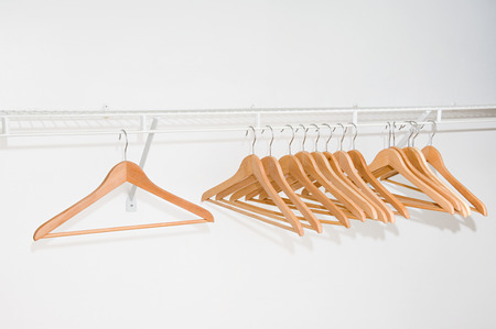 fifteen: Clothes Hangers On A Clothes Rail